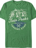 Logging Camp Twin Peaks T-Shirt