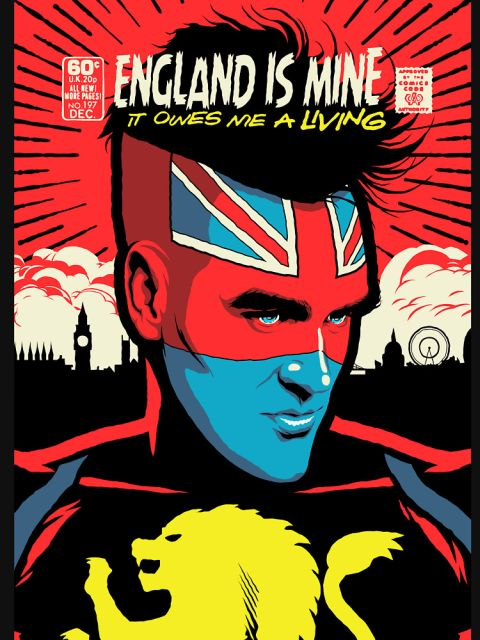 Post-Punk Comics - England Is Mine