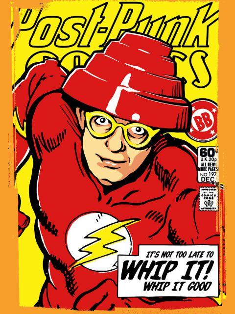 Post-Punk Comics - Whip It