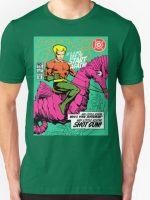 Post-Punk Heroes - Aqua T-Shirt