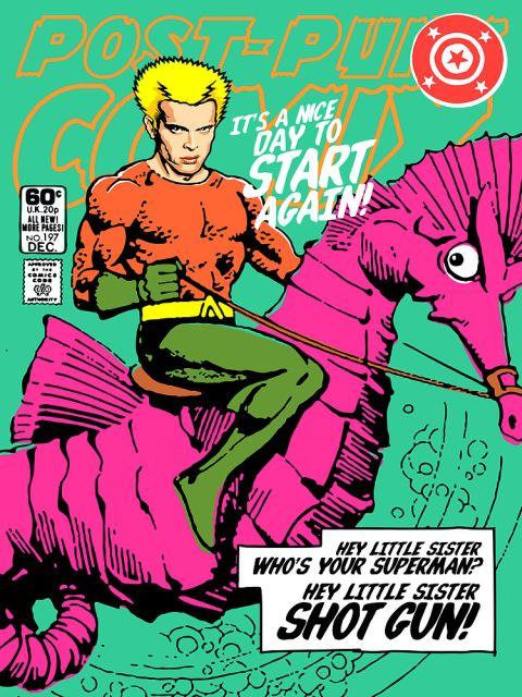 Post-Punk Heroes - Aqua