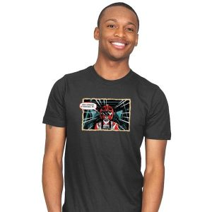 Red Ranger Standing By T-Shirt