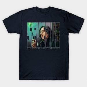 SEVERUS: Professor Severus Snape of House Slytherin