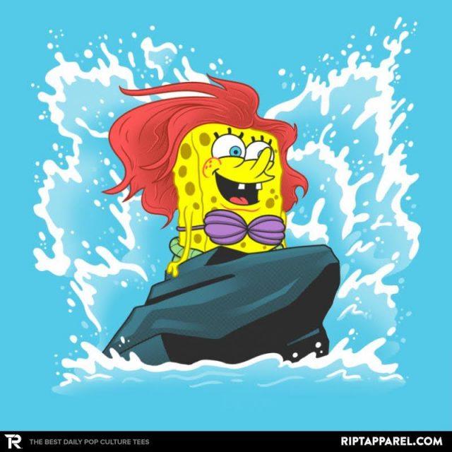 Sponge Dude Mermaid Pants