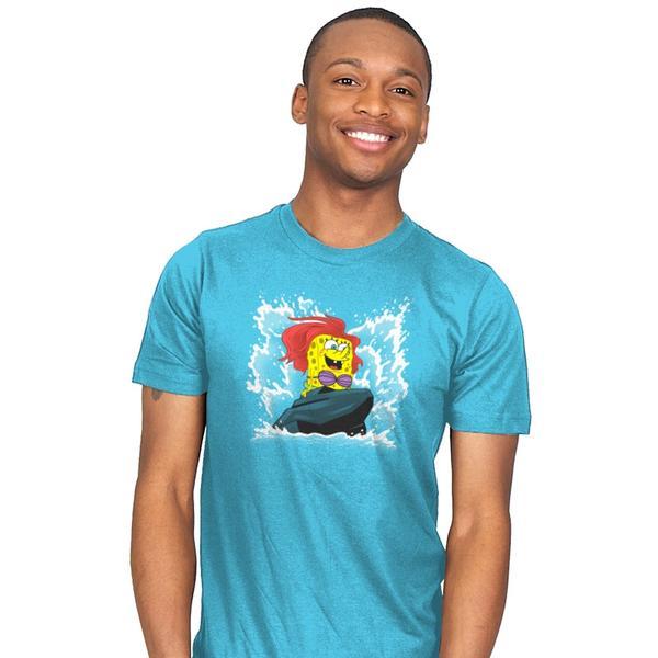 Sponge Dude Mermaid Pants T-Shirt