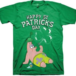 St. Patrick's Day SpongeBob