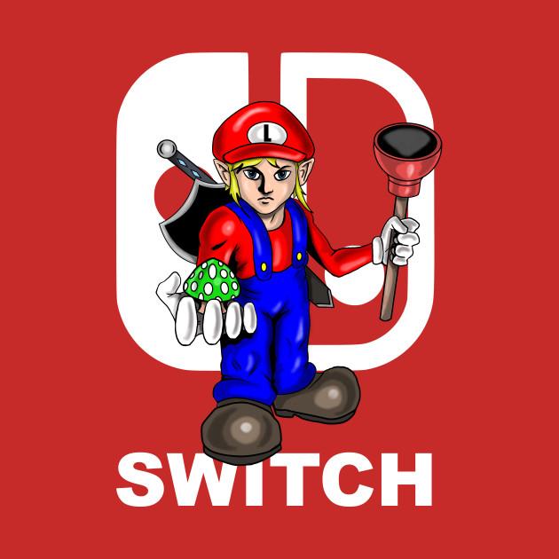 Switch Link Mario