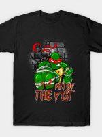 TMNT Ninja Turtles Raphael WAY OF THE FIST T-Shirt