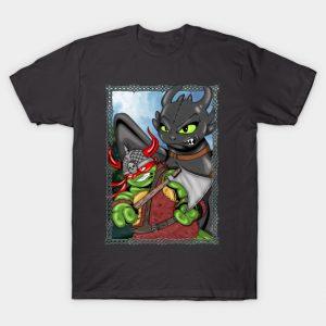 TMNT Raphael Toothless