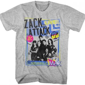 Zack Attack Live Saved By The Bell