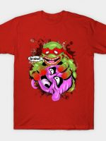 Zombie Ninja turtle eating Krang Brains T-Shirt
