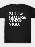 Zuul & Gozer & Vinz & Vigo T-Shirt