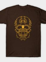 Adventure Time Jake Skull Day of the Dead Sugar Skull T-Shirt
