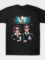 Agents In Black T-Shirt