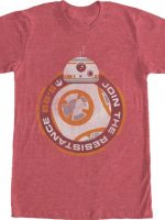 BB-8 Join The Resistance Star Wars T-Shirt