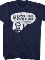 Be Excellent Bill and Ted T-Shirt