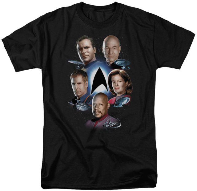 Captains Star Trek