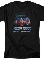 Cast Star Trek The Next Generation T-Shirt