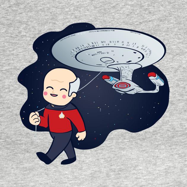 Cute Star Trek Picard Balloon
