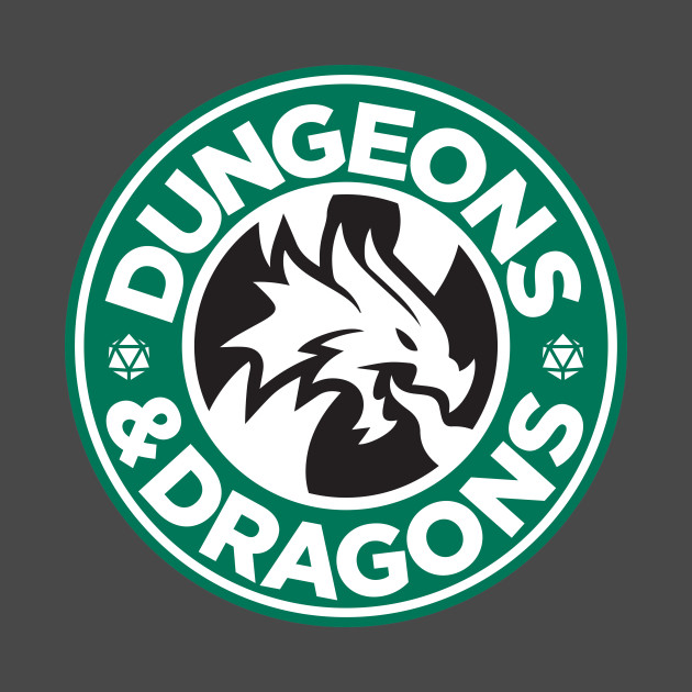 Dungeons & Dragons Starbucks Parody Mashup