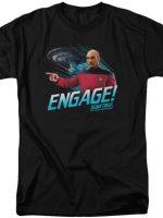 Engage Star Trek The Next Generation T-Shirt