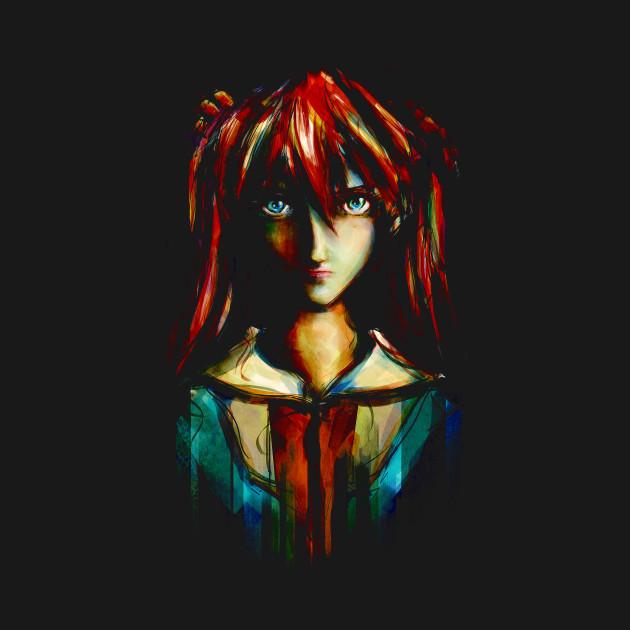 Evangelion Asuka Portrait