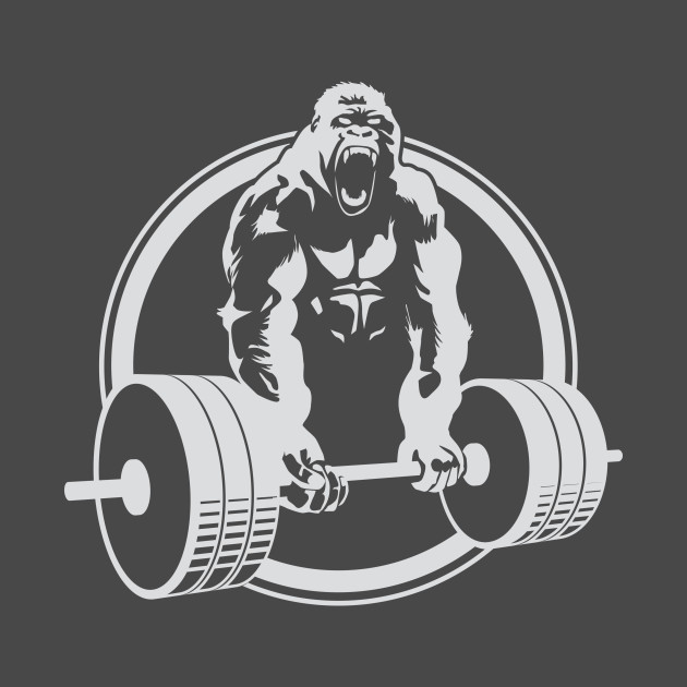Gorilla Lifting Gym Fitness Weightlifting Crossfit