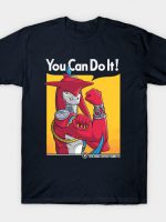 Supportive Shark-Man T-Shirt