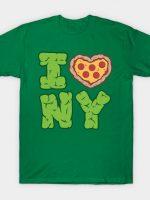 I PIZZA NY T-Shirt