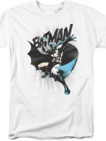 Jim Lee Caped Crusader Batman T-Shirt
