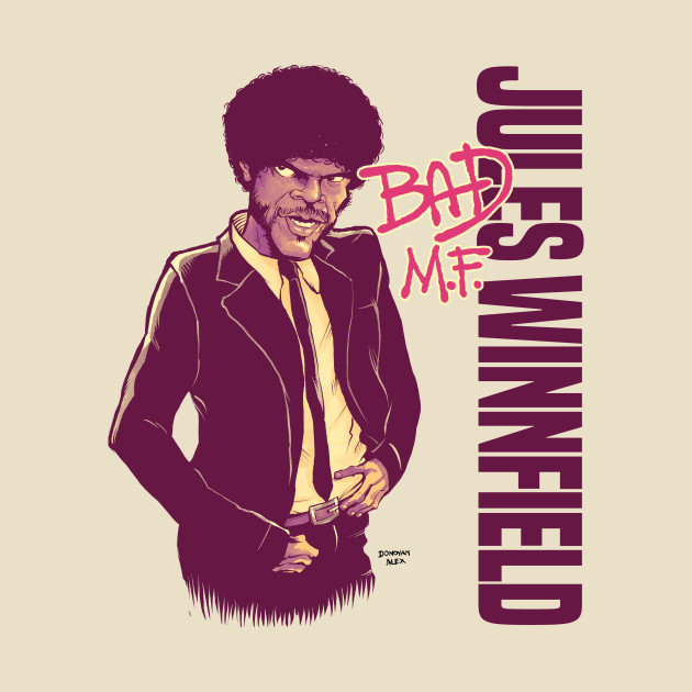 Jules Winnfield: Bad M.F. [alt. colors]