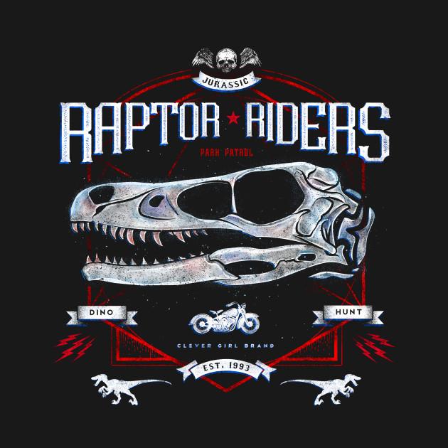 Jurassic World Raptor Riders Swag