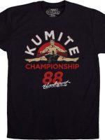 Kumite Championship Bloodsport T-Shirt