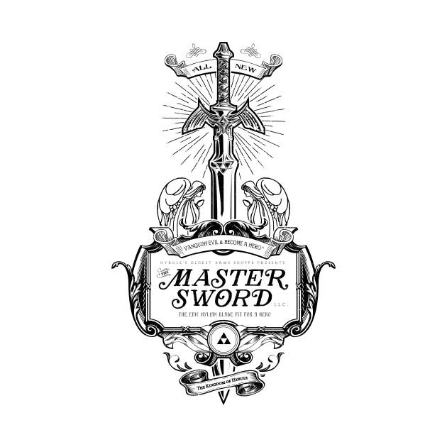 Master Sword Vintage Ad