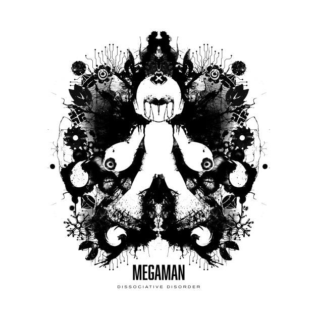 Megaman Ink Blot Geek Psychological Disorder