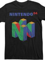 N64 Logo Nintendo T-Shirt