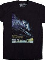 Poster Edward Scissorhands T-Shirt
