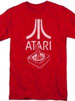 Red Joystick Atari T-Shirt