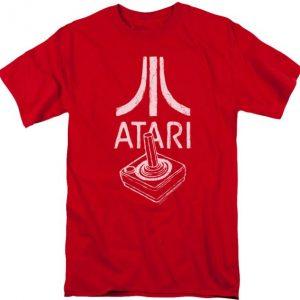 Red Joystick Atari