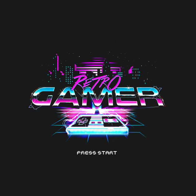 Retro Gamer Press Start
