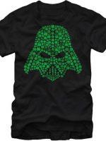 Shamrock Vader Helmet Star Wars T-Shirt