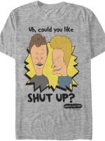 Shut Up Beavis and Butt-Head T-Shirt