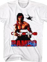 Super Soaked Rambo T-Shirt