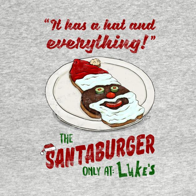 The Santa Burger