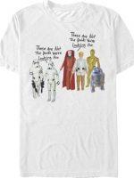 Vintage Droids Star Wars T-Shirt