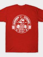 plumber strong mario gym T-Shirt