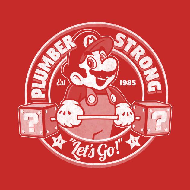 plumber strong mario gym