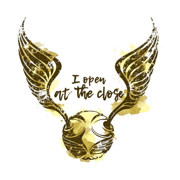 Golden Snitch - Harry Potter T-Shirt - The Shirt List