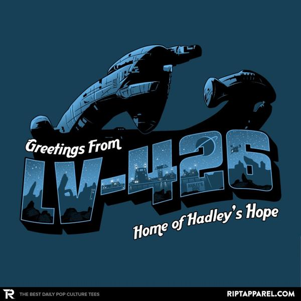 Greetings from LV-426