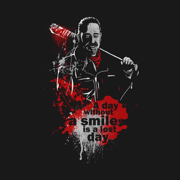 The walking smile